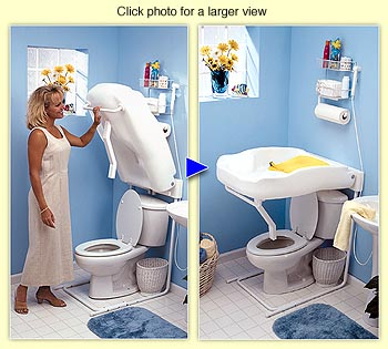 Fold Down Diaper Changing Table